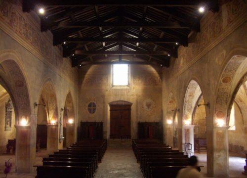 Avio - Chiesa romantica e cimitero