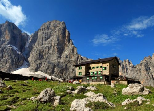 Rifugi - Dolomiti di Brenta