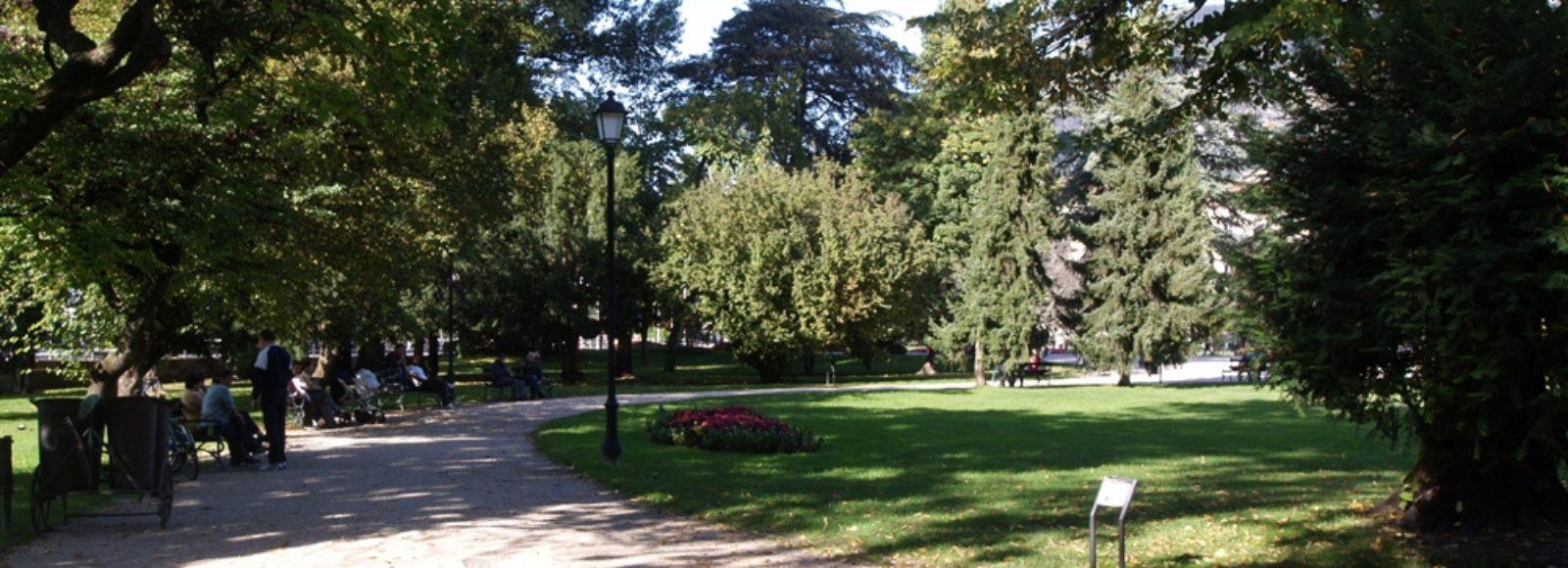 Trento - Giardini Piazza Dante