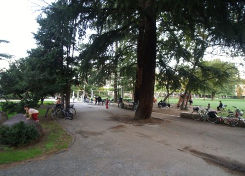 Trento - Giardini Santa Chiara