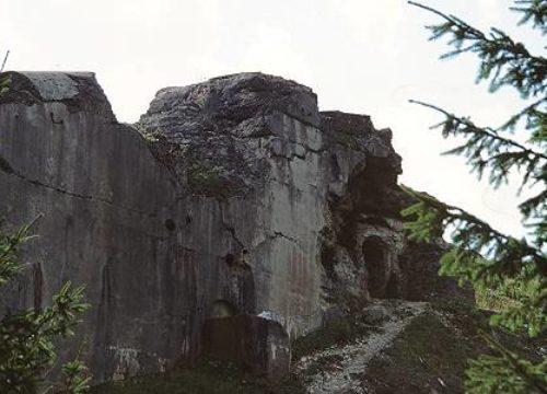 Folgaria - Forte CHerel - San Sebastiano