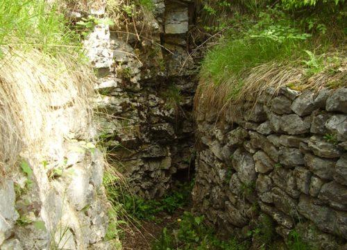 Val di Gresta - Trincee monte Creino