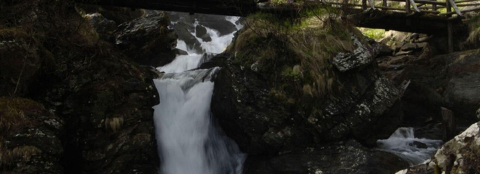 Cascata del Saent